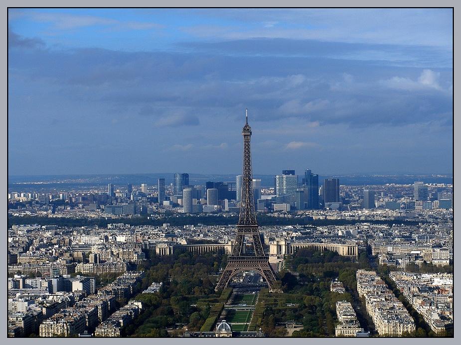 Tour Eiffel & La Défense