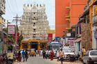 Tour-entrée ouest du temple de Rameshwaram