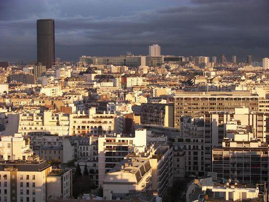 Tour Montparnasse le jour