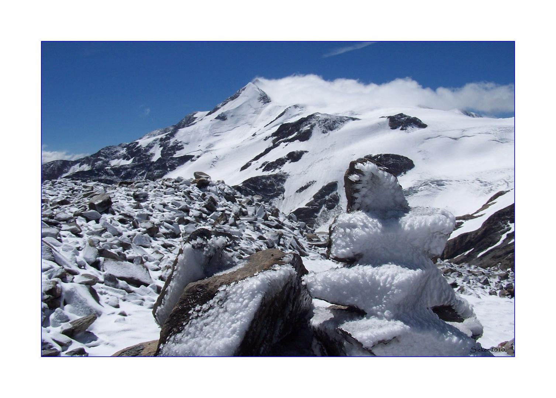Tour zur Butzenspitze auf 3300 m Höhe ...