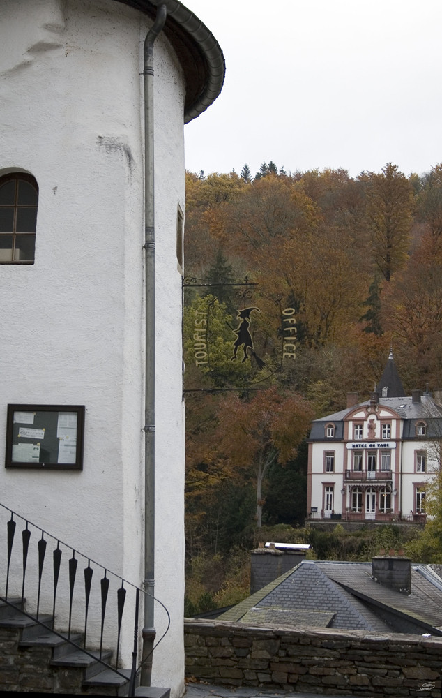 Tourist office in Clervaux (L)