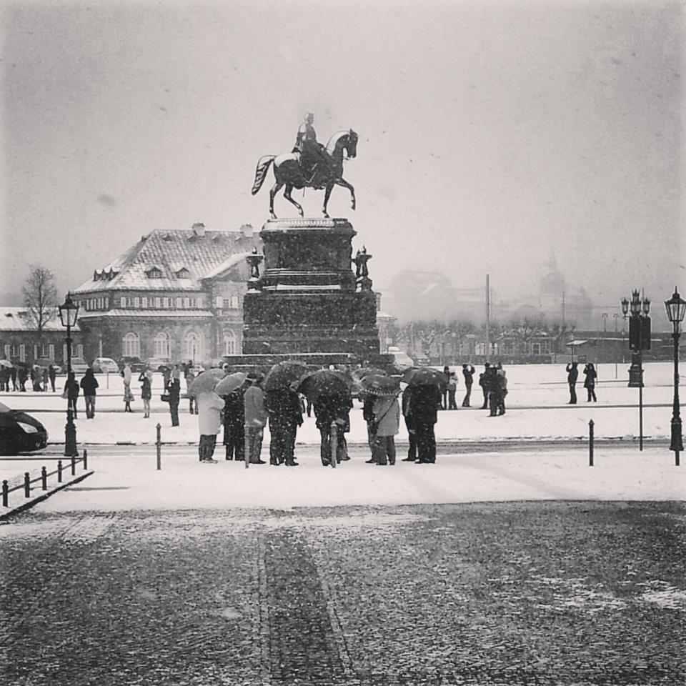 Touristen - Dresden