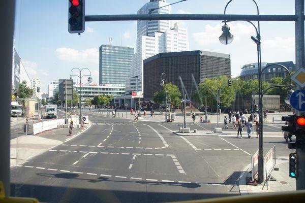 Touristenroute Bus 100 Zoo->Alex I