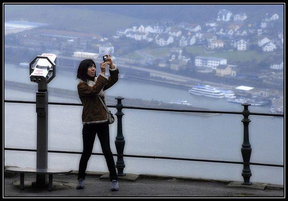 Touristin