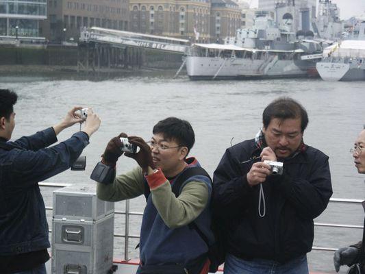 Tourists love London