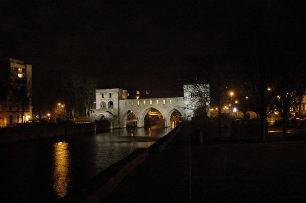 Tournai by night !