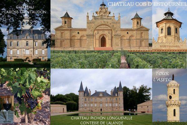 Tournée des Châteaux du médoc