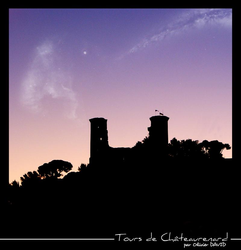 Tours de Châteaurenard, près d'Avignon