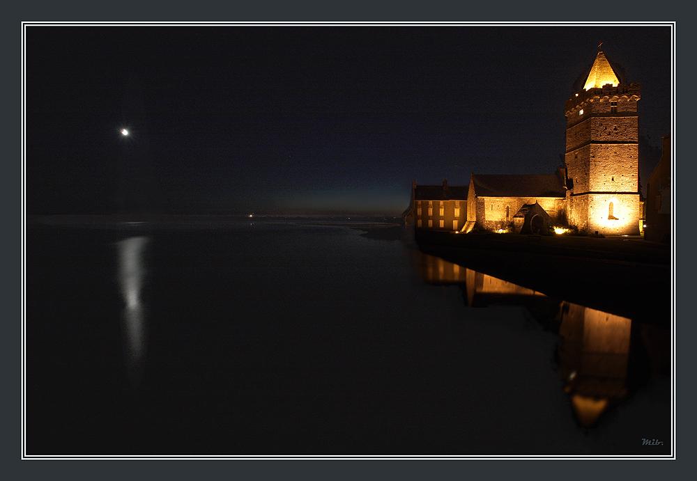 Tout çà n'vaut pas le clair de lune à ... Port-Bail
