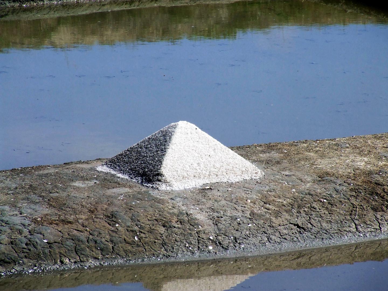 toute une montagne de sel....