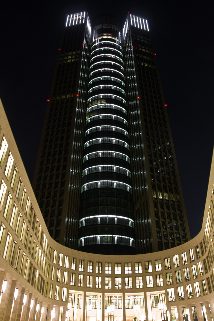 tower 185 frontansicht