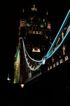 Tower Bridge at friday night