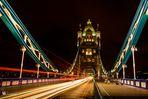 Tower Bridge at night #3