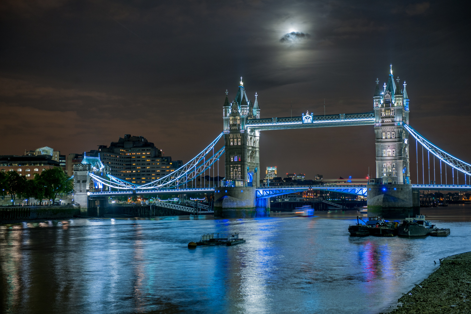 Tower Bridge at Night II