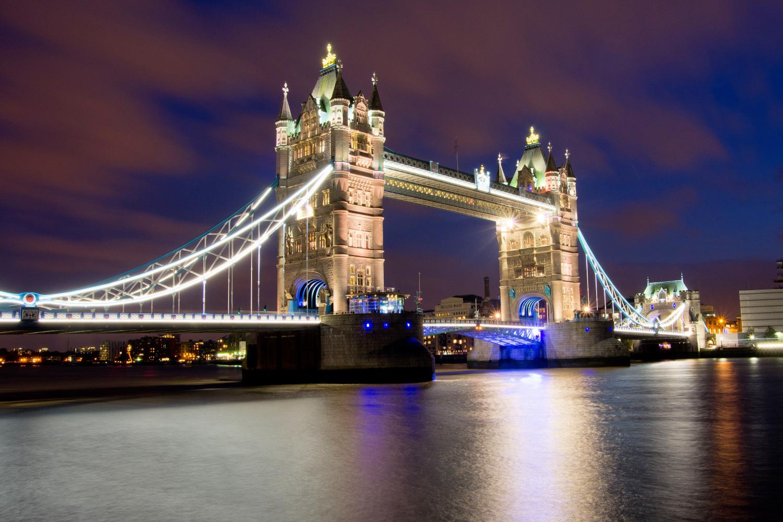 Tower Bridge bei Nacht!