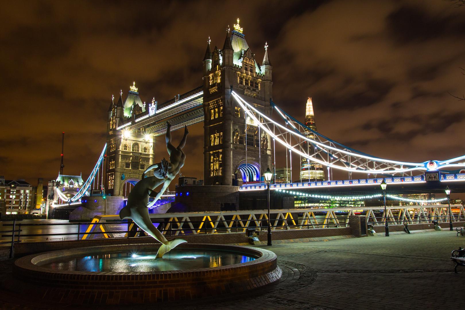 Tower Bridge @ night