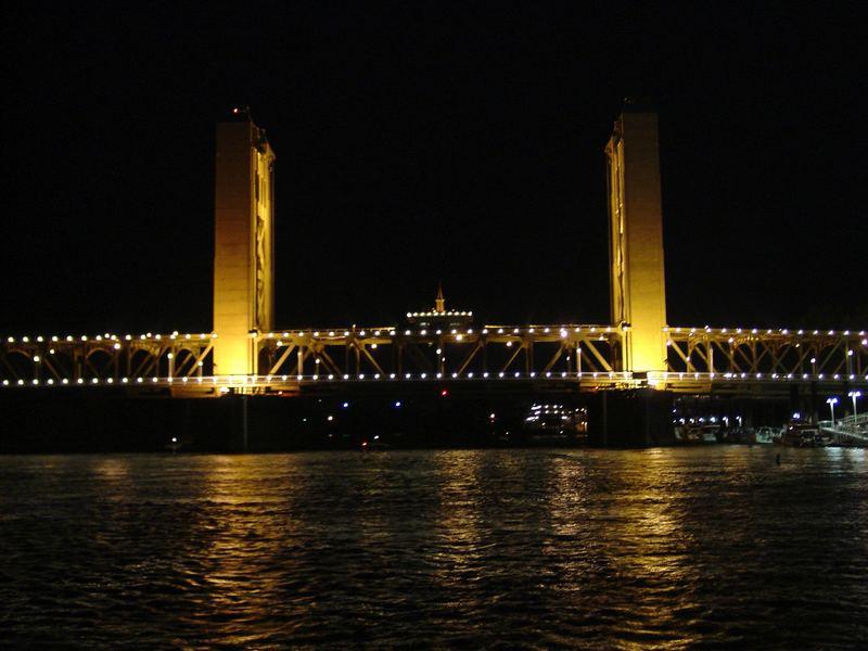 Tower Bridge, Sacramento,CA. USA
