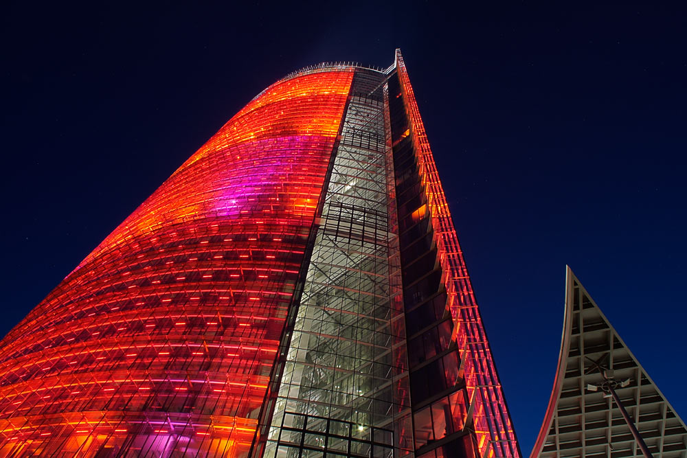 Tower in red