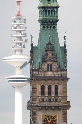 Towers of Hamburg