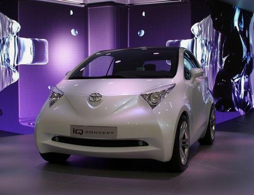 Toyota IQ Concept at IAA continued