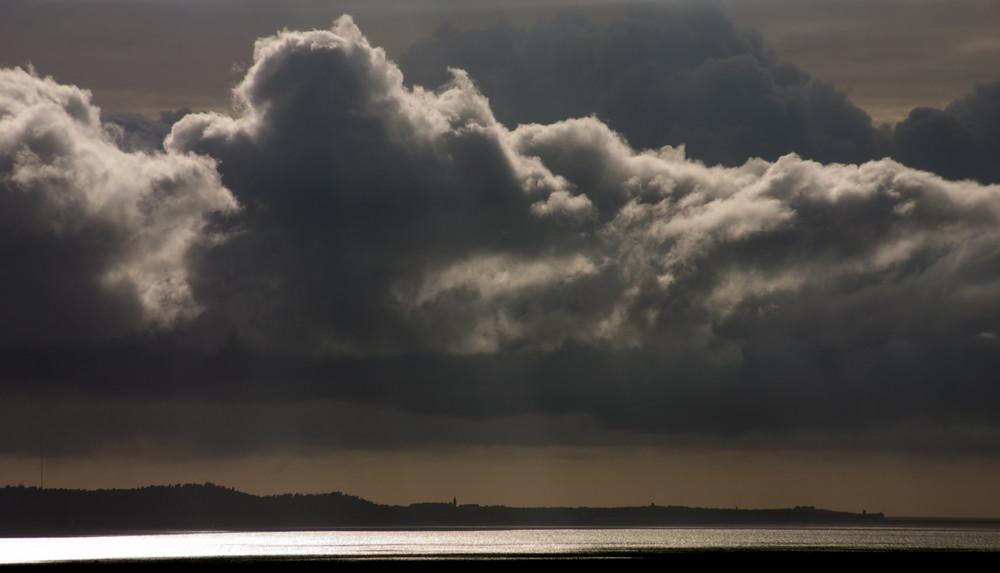 ...tra le nuvole...