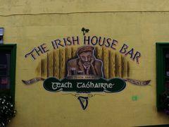 Tra un boccale di Guiness imparando il Gaelico.