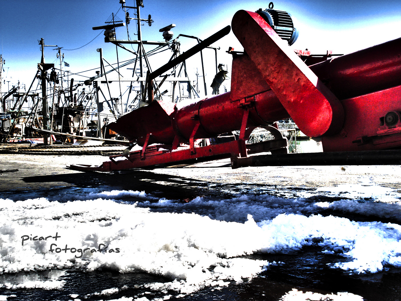 Trabajo en el puerto
