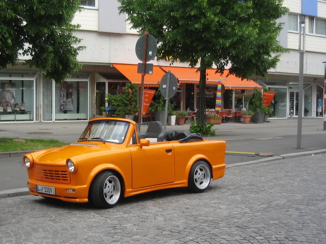 trabant cabrio foto bild autos zweir der oldtimer youngtimer auto legenden bilder auf. Black Bedroom Furniture Sets. Home Design Ideas