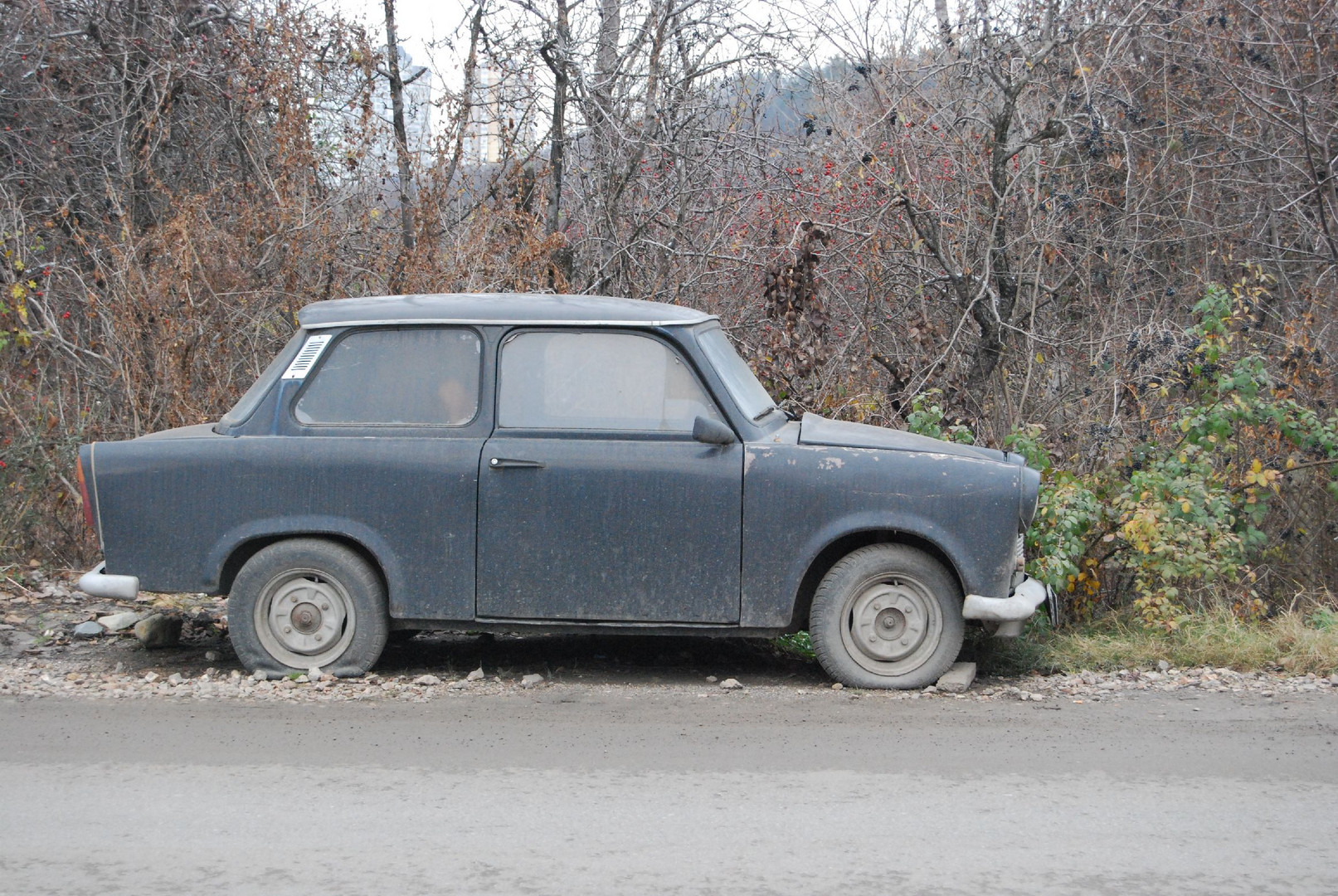 """Trabbi-Car"" in Bulgaria"