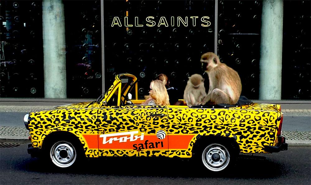 Trabi-Safari in Berlin