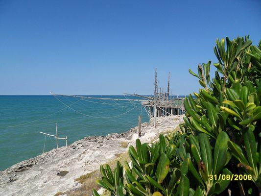 Trabucco in Apulien