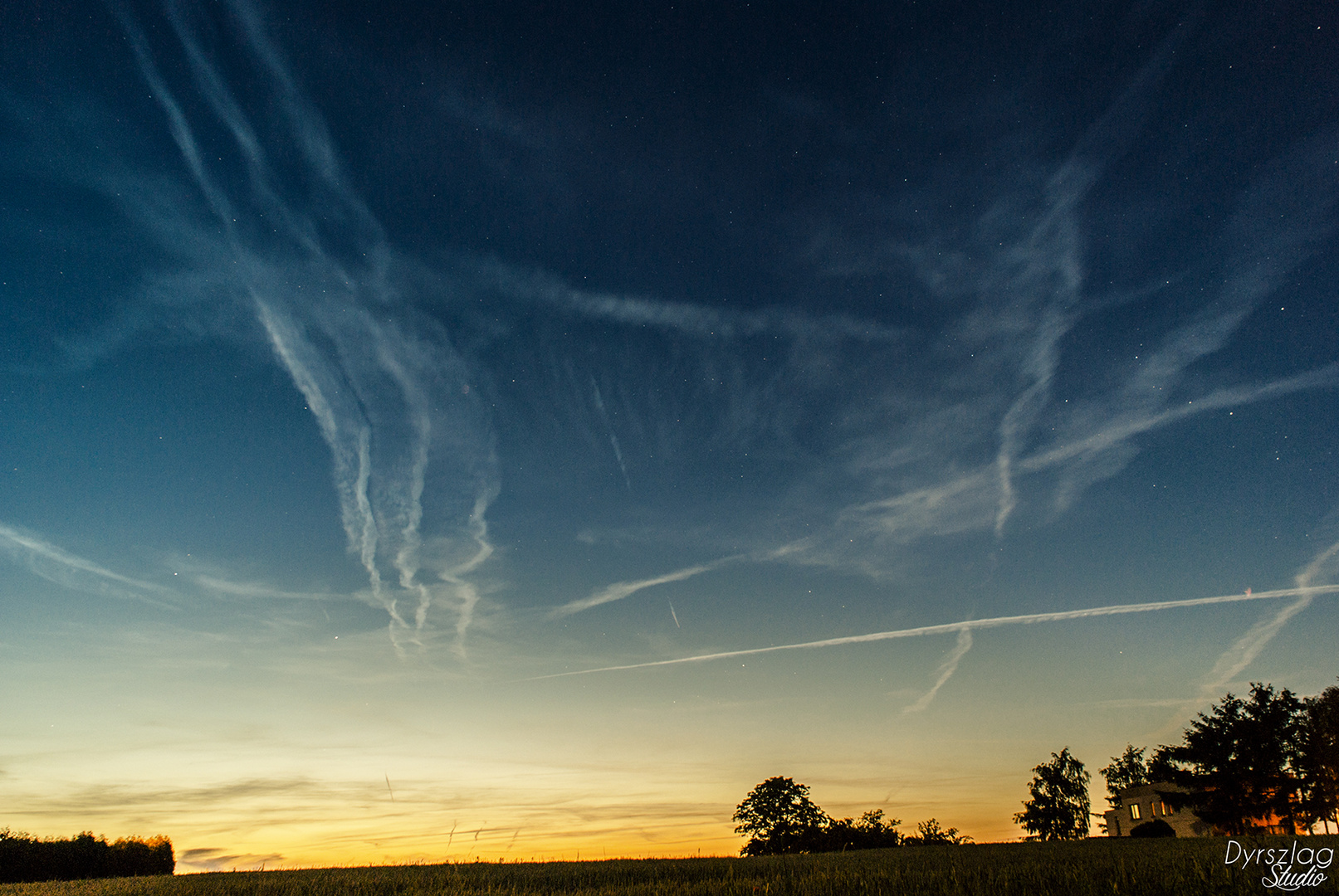 traces of planes