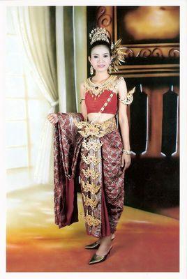 Tracht aus Thailand