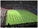 Tracht im Stadion