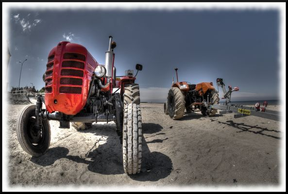 Tracteur pour mise à l'eau