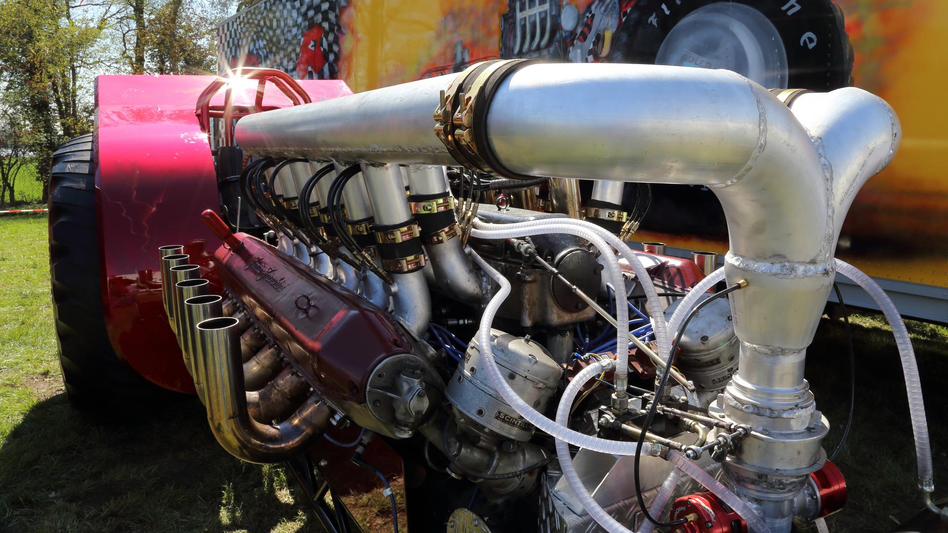 Tractor Pulling - Kann es auch etwas mehr sein ?