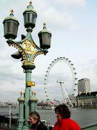 tradionelles und modernes Wahrzeichen von London