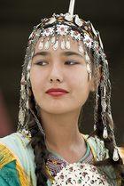Traditional Turkmen Girl