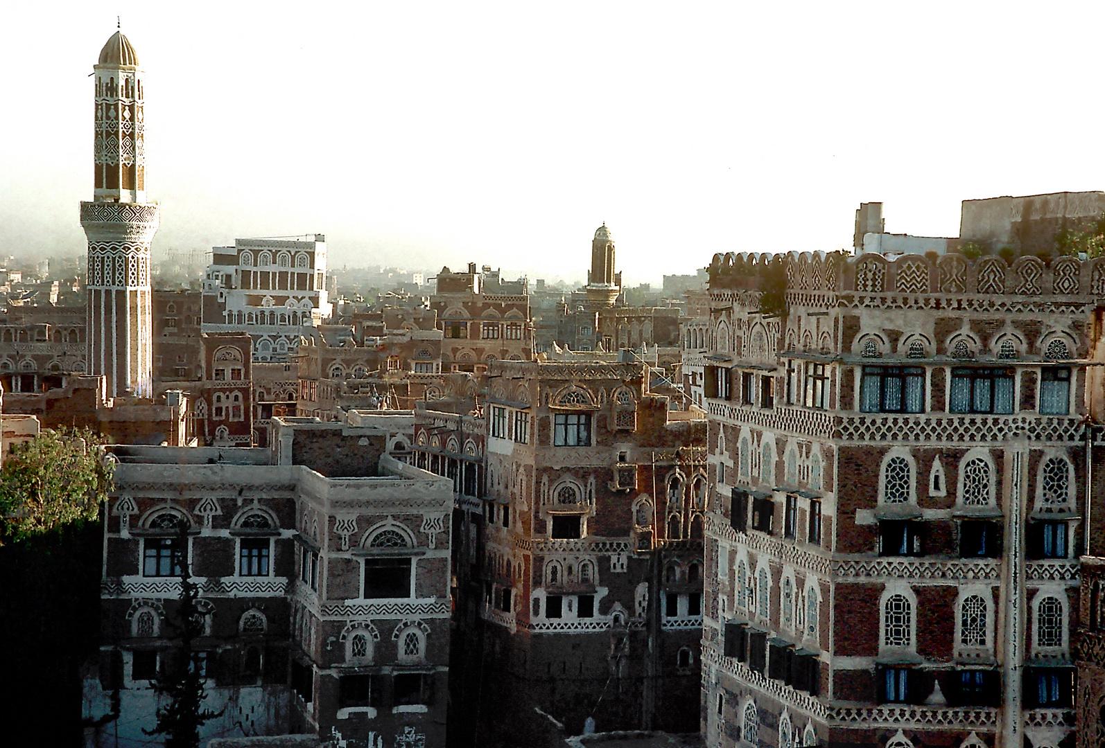 Traditionelle Architektur im Jemen