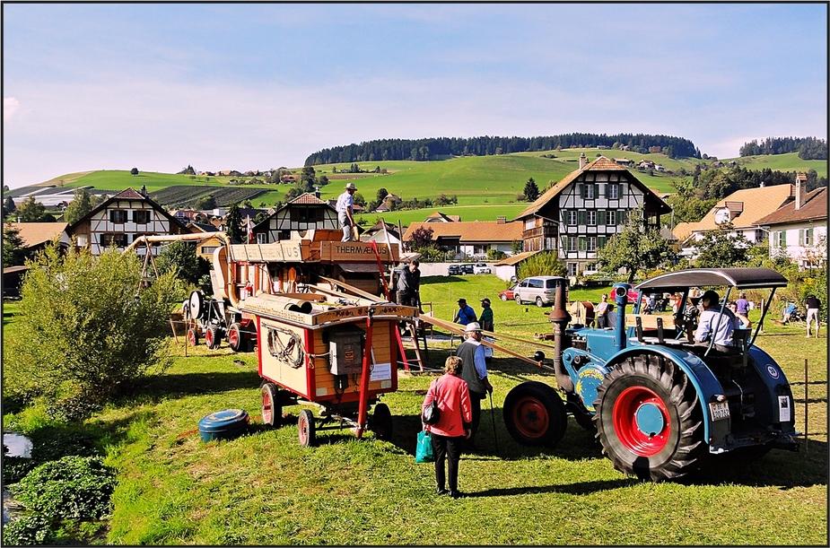 Traditionelle Brächete in Zäziwil . . .
