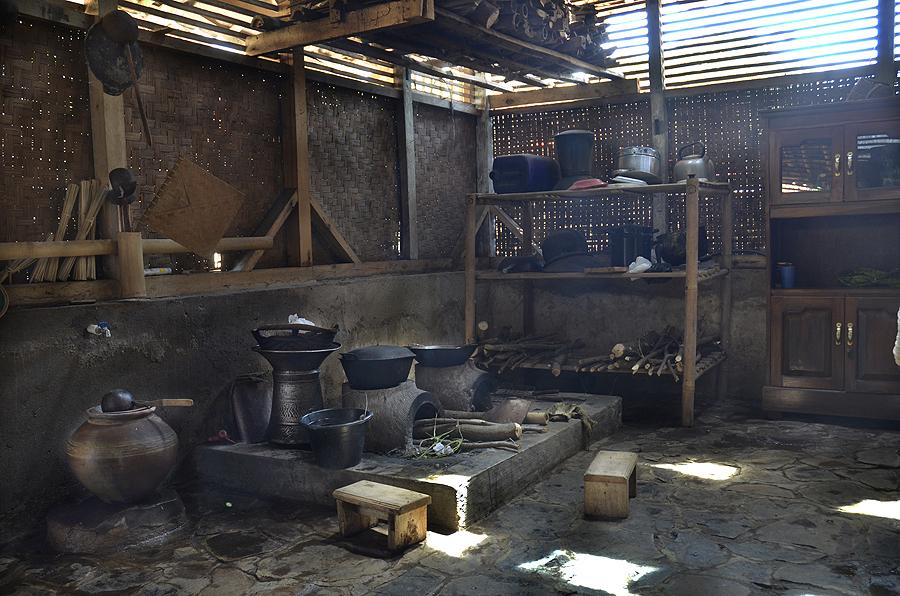 Traditionelle indonesische Küche
