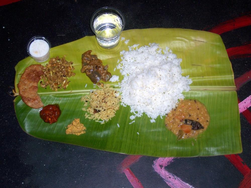 Traditionelle Mahlzeit