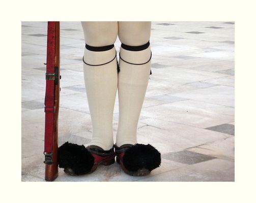 Traditionelle Schuhbekleidung