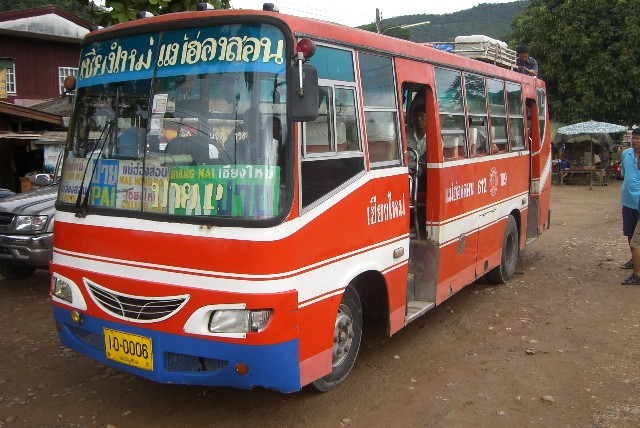 Traditioneller Thai Bus