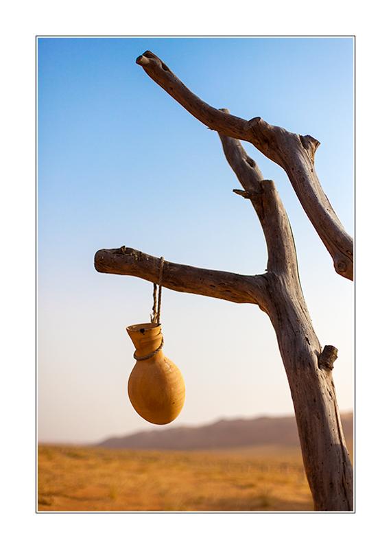 Traditionelles omanisches Trinkwassergefäß