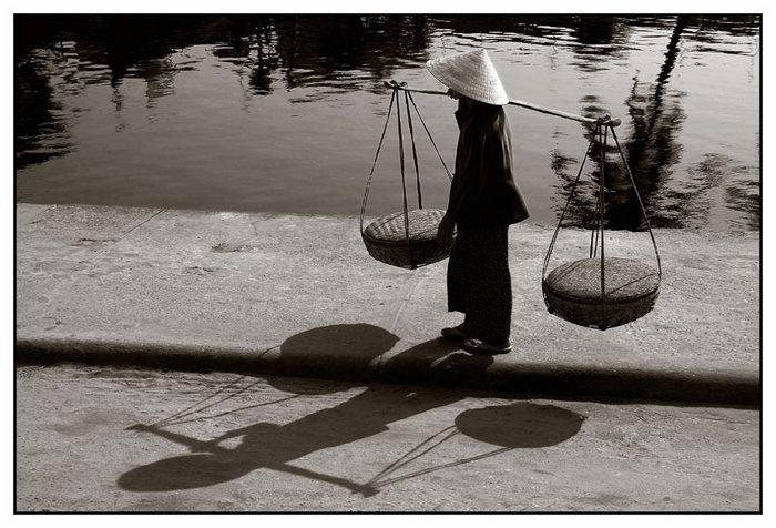 Trägerin-Vietnam