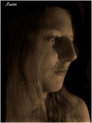 Tränen einer Frau