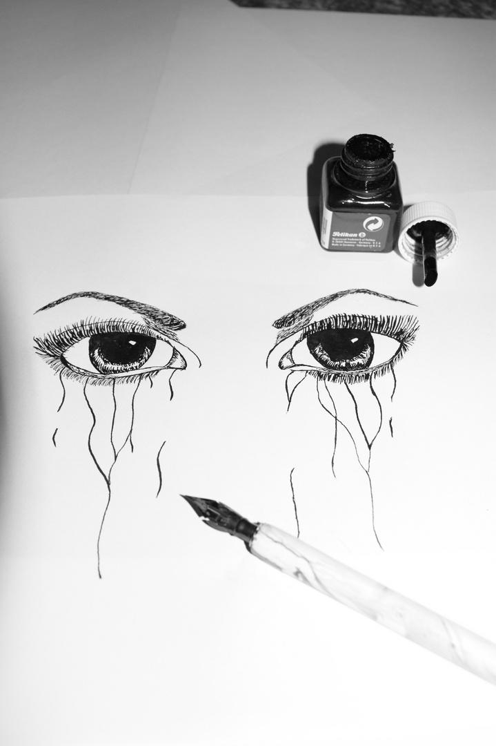 Tränen kommen, wenn Worte fehlen