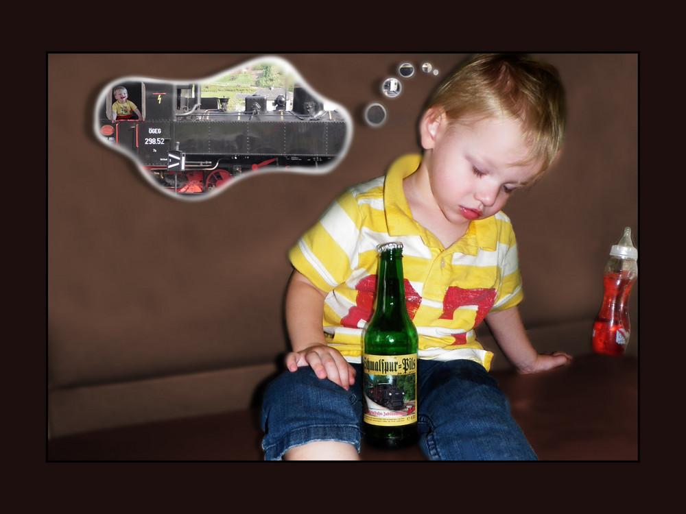 Träume im Zug