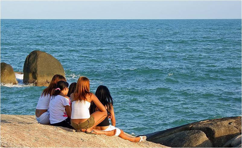 träumen am Meer